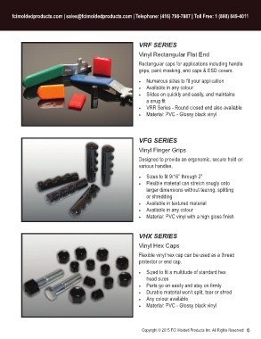 Page 7 - FCI Industrial Caps and Plugs Catalog